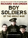 Boy Soldiers of the Great War (eBook)